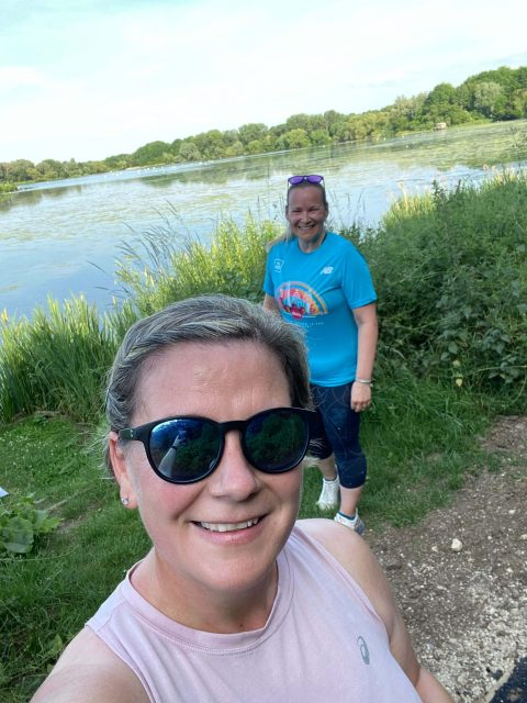 Berlin Marathon Training - Ruth & Brems