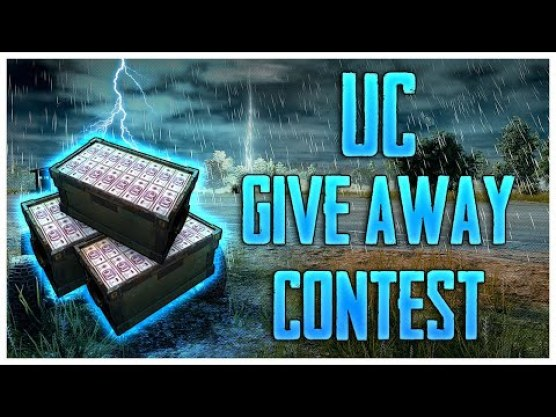 PUBG Mobile UC Giveway