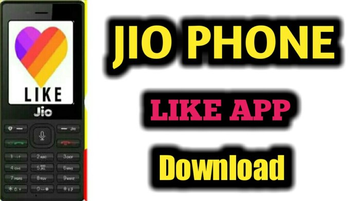 How to Download Like App in Jio Phone