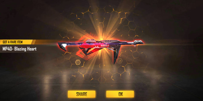 How To Get Free Fire Poker MP40?