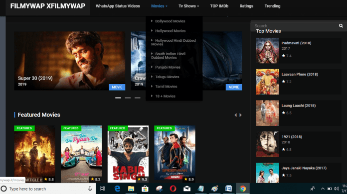 Xfilmywap 2021- Download Hollywood Movies In HD