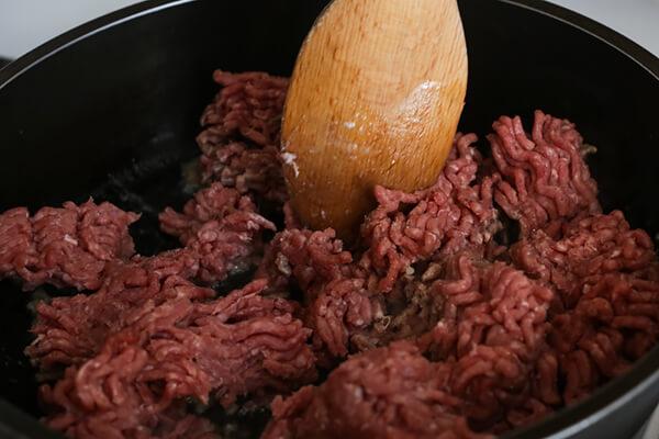 Keto Ground Beef Stroganoff