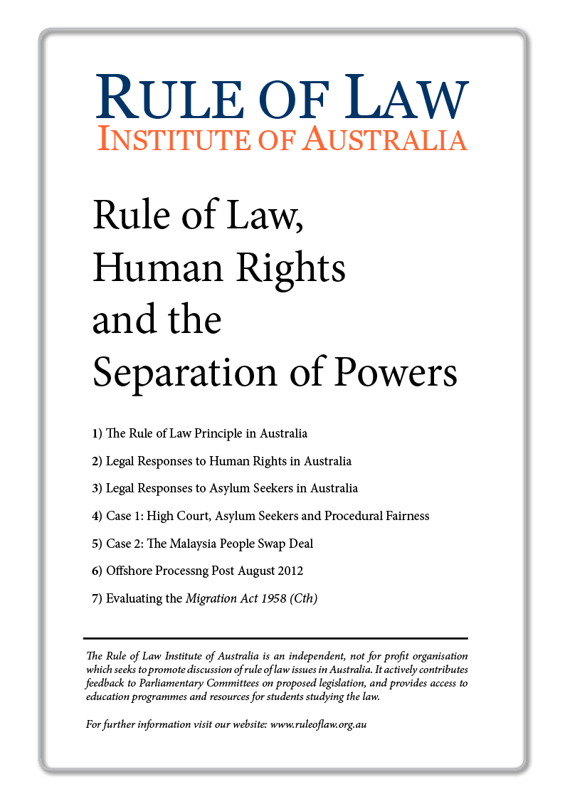 Human Rights And The Rule Of Law