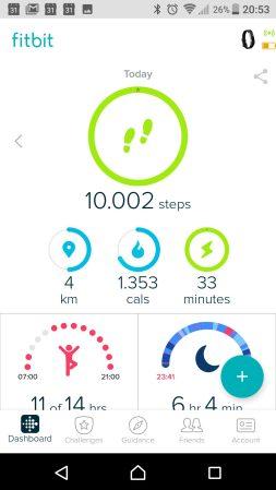10.000 stappen gezet!