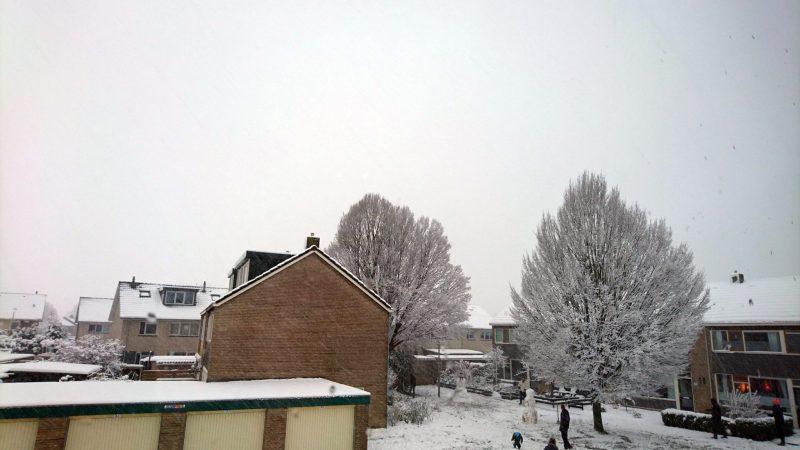stress sneeuw