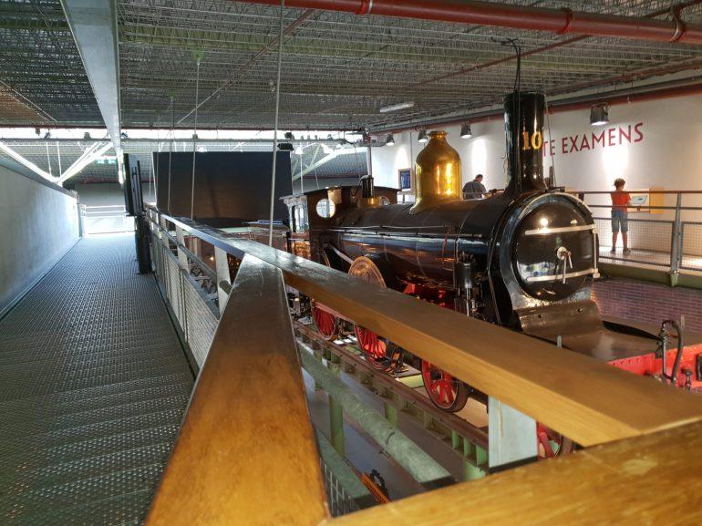 In het Spoorwegmuseum