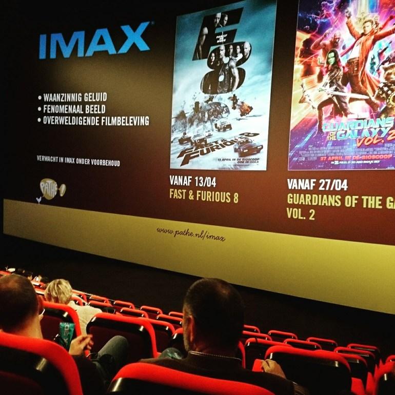 IMAX erg mooi, maar geen aanrader voor een prikkelarme activiteit.