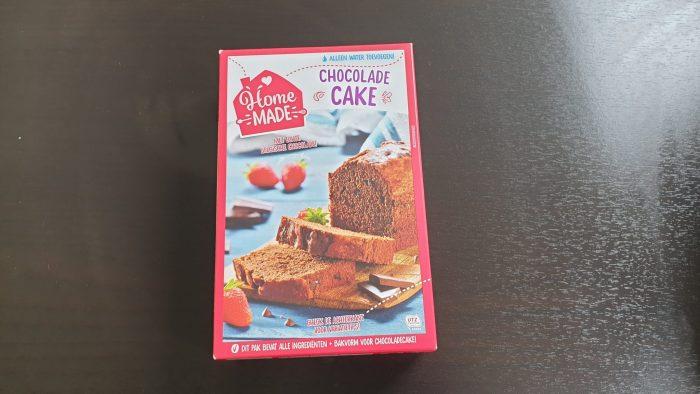 Homemade chocoladecake bakmix