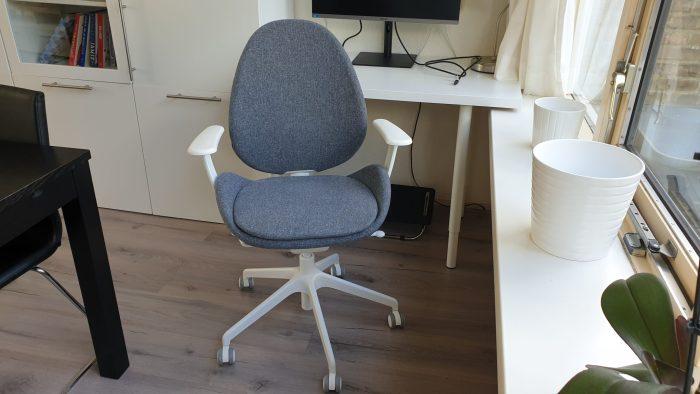 Mijn nieuwe bureaustoel