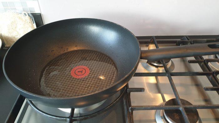 De ingevette wok