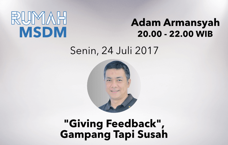 Giving Feedback, Gampang tapi Susah.