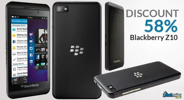 diskon harga Blackberry Z10
