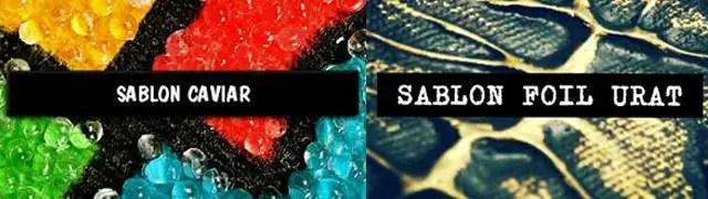 Sablon Caviar + Foil Urat