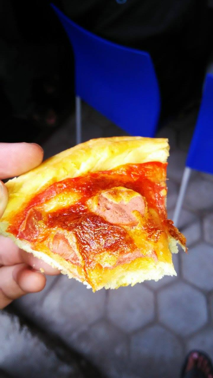 Pizza Toping Sosis