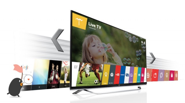 LG Ultra HD Smart TV 43 - 43UF640T - Live TV