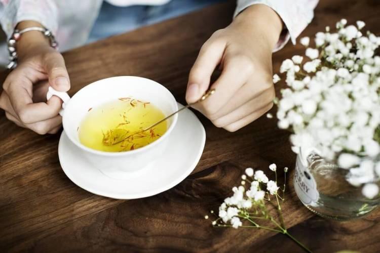 teh bunga saffron