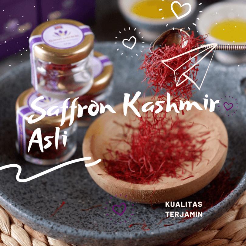saffron kashmir asli, kualitas terjamin, rumah saffron