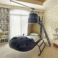 Tempat tidur helikopter pastinya akan membuat anak anda mempunyai impian menjadi pilot