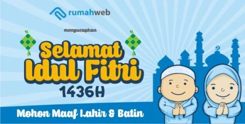 Selamat Hari Raya Idul Fitri 1 Syawal 1436 Hijriyah