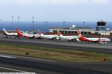 Funchal Airport, Portugal