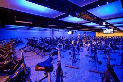 Cycle Studio; The Houstonian Hotel, Club & Spa, Houston