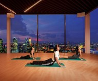 Fitness Centre; Marina Bay Sands Hotel, Singapore