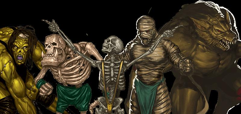 rumbleslam rolling bones cryptborn nightmares