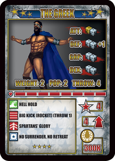 rumbleslam card greek kaisers palace