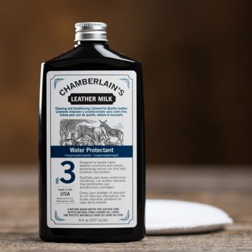 Chamberlains Leather Milk Water Protectant no. 3