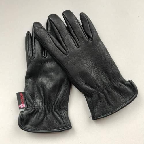 Watson Ladies Gloves Range Rider Black Deerskin Lined6