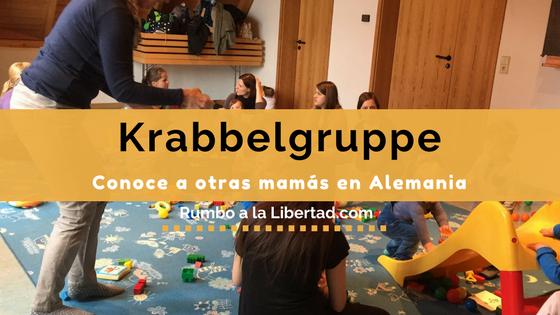 Krabbelgruppe: Conoce a otras mamás en Alemania