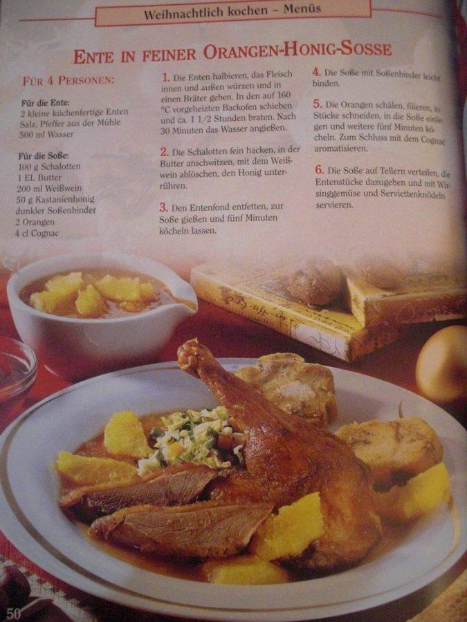 libro de recetas Grossmutters Weihnachtsküche, de la editorial garant
