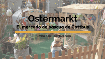 Ostermarkt: El mercado de pascua de Cottbus