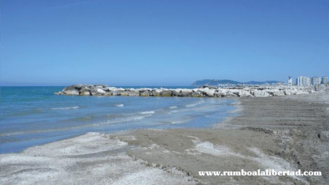 misano adriático playa de italia con niños