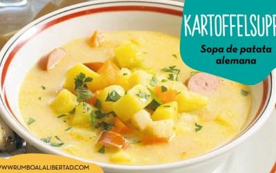 Receta de sopa de patata alemana: la auténtica Kartoffelsuppe