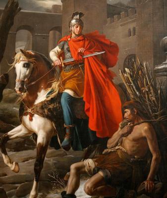 San Martin a caballo