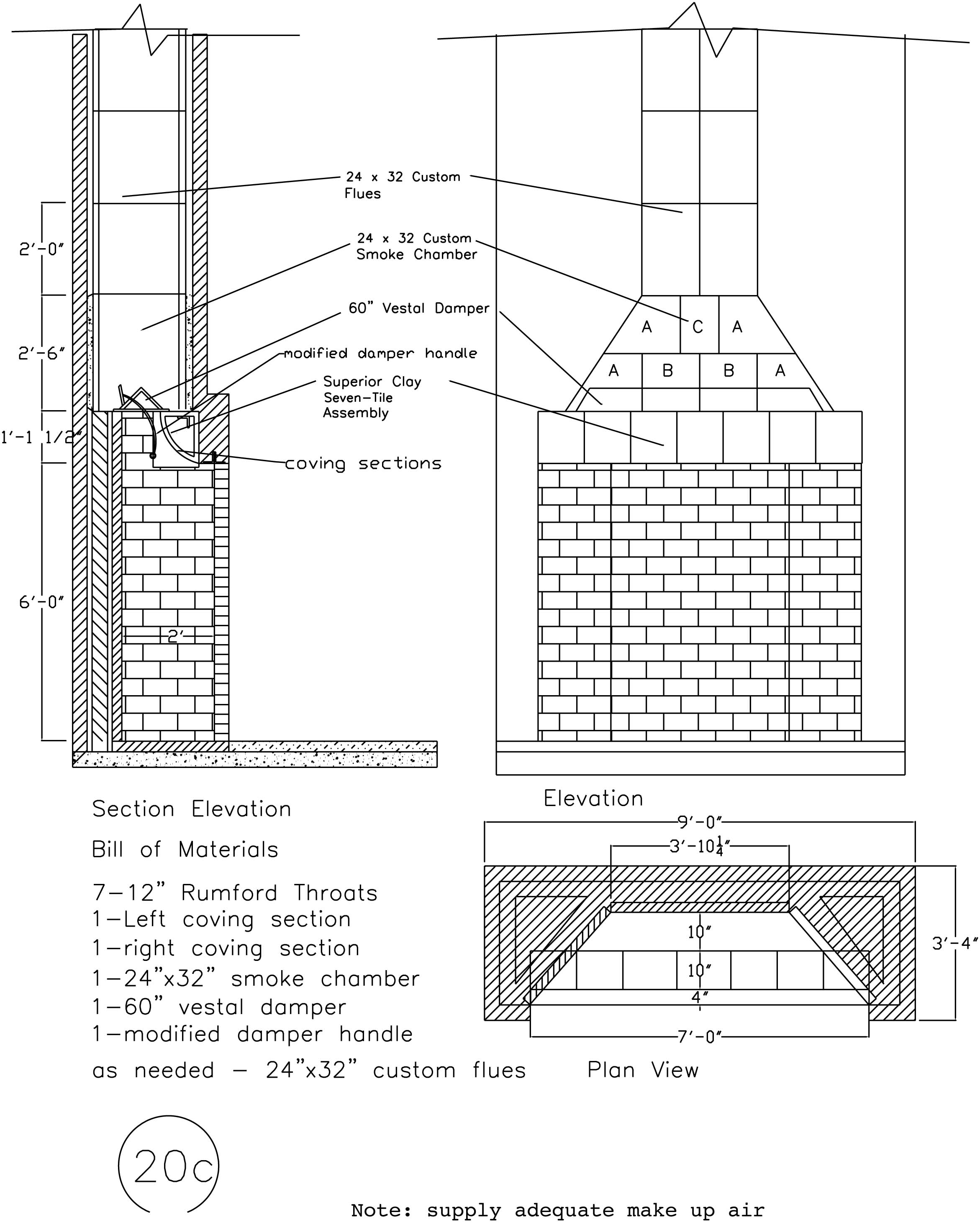 Rumford Fireplace Plans Amp Instructions