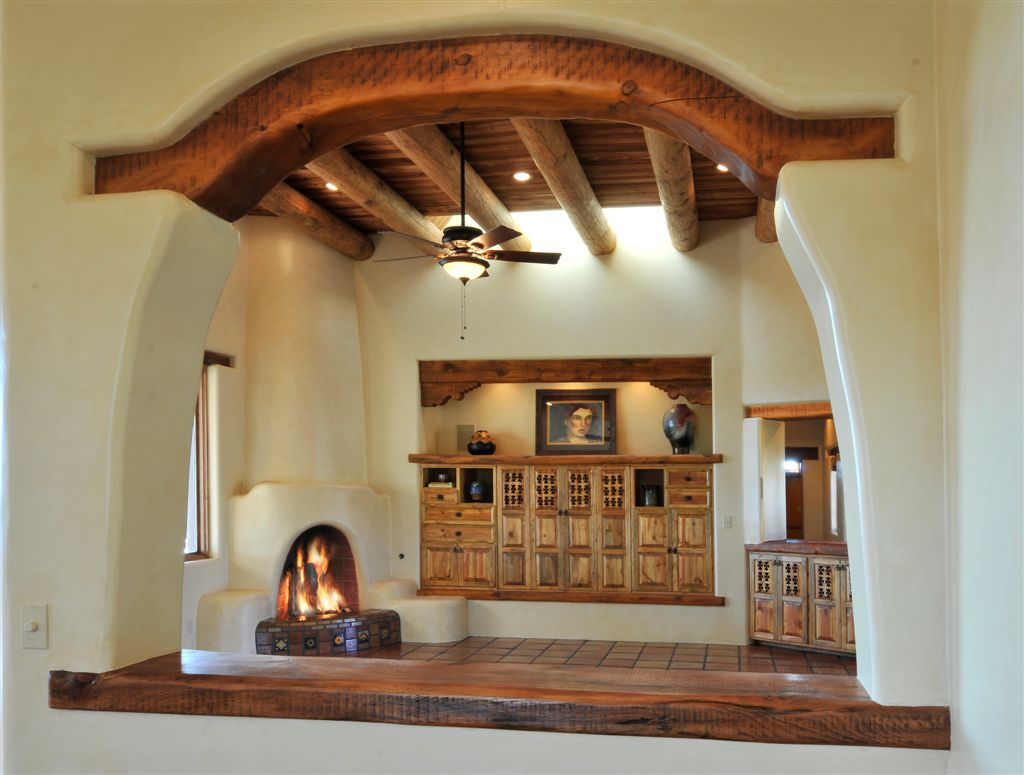 Adobe House Interior