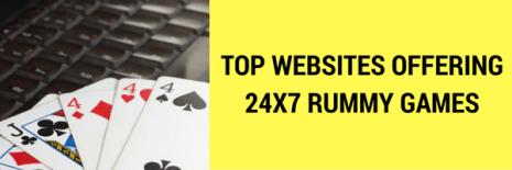 24X7 RUMMY GAMES