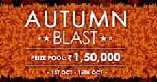 Autumn Blast Promotion