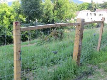 ... zum Zaun ansprühen