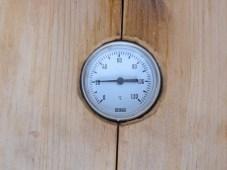 20 Grad in der Räucherkammer