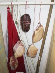 ... wurde vor dem Räuchern noch 2 Tage abgehangen
