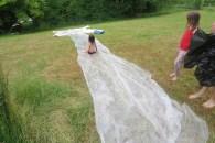 Wasserrutsche auf der Rumpelhalde