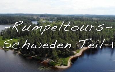 Testreise Schweden Teil 1
