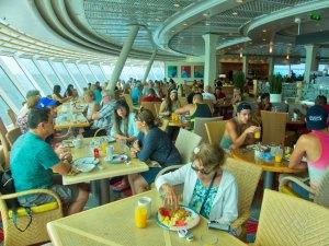 Rum Cruise - dining area