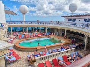 Rum Cruise - the sun deck