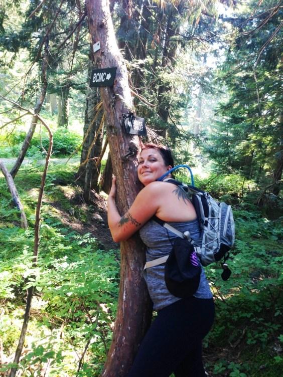 Tree hugger Jamie