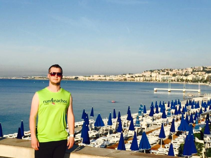 James W, looking serious in Nice - France
