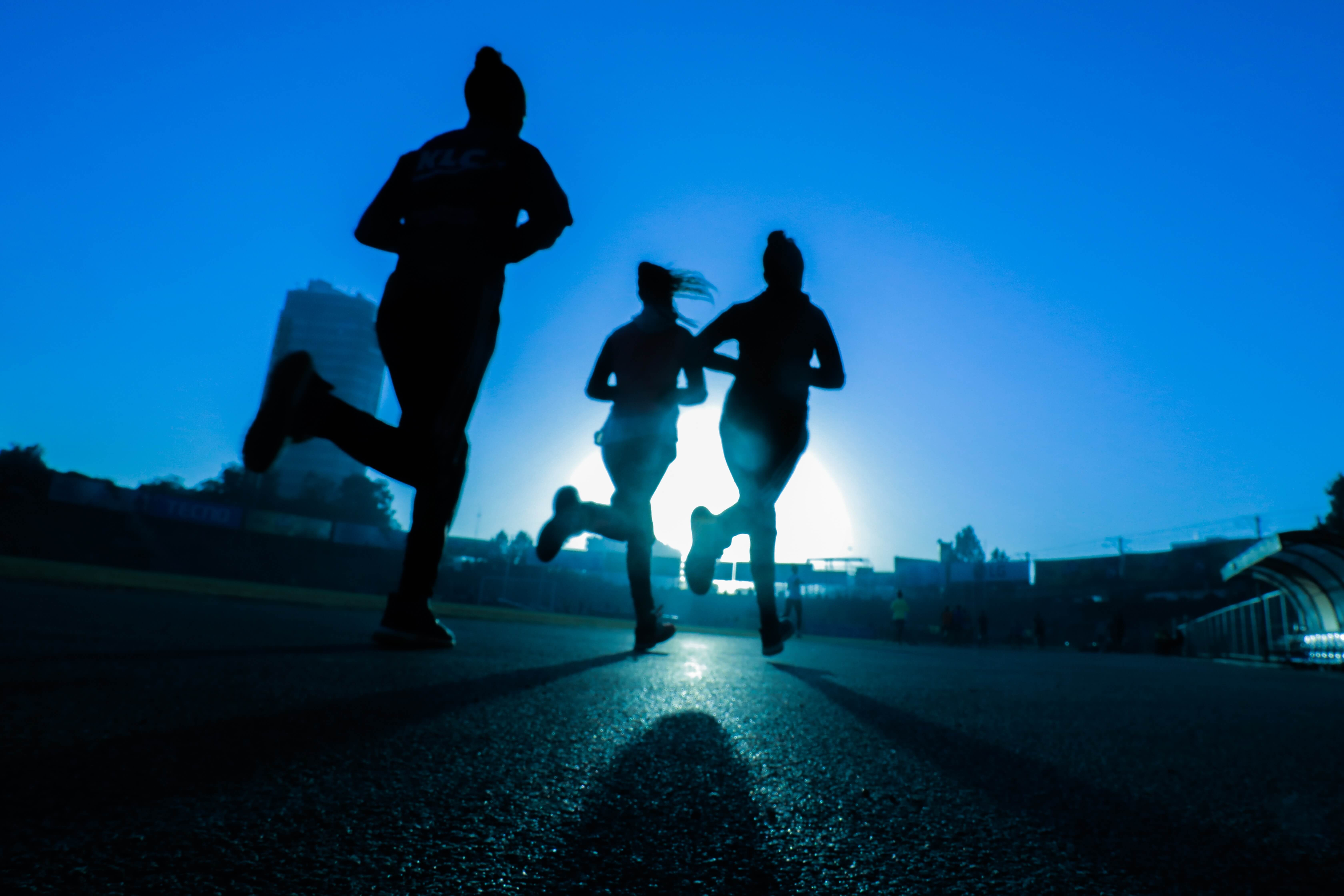 Benefits of jogging for 20 minutes a day